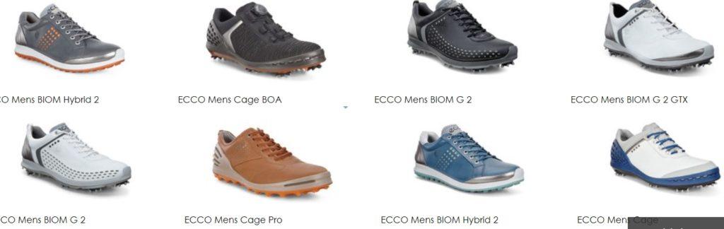 2018年モデル ECCO(エコー)ゴルフシューズ