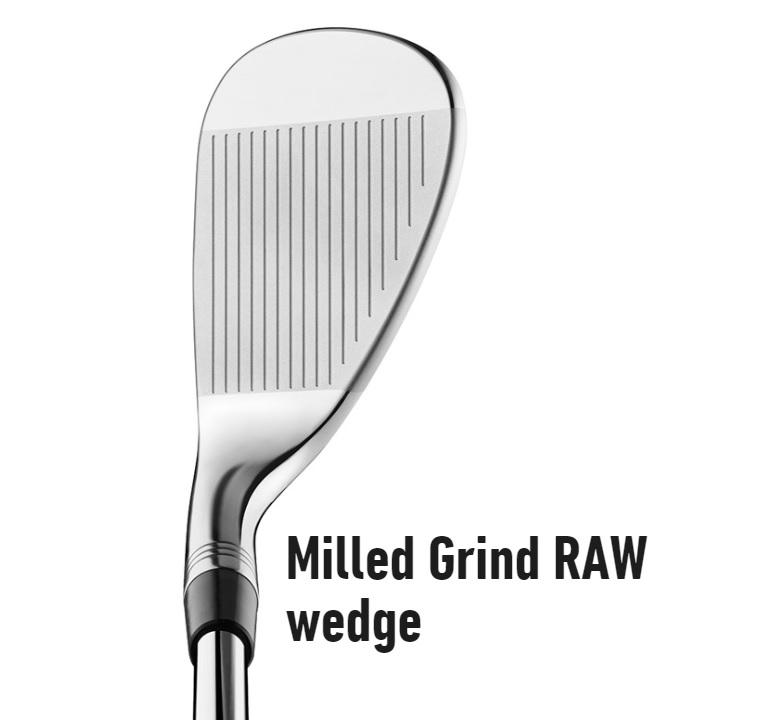 テーラーメイド RAW(ノーメッキ)ミルドグラインド ウェッジ