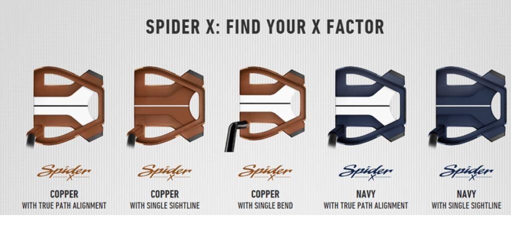 テーラーメイド Spider スパイダーX パター