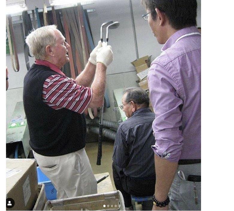 ニクラウスとMIURAゴルフのコレクター向けの手鍛造アイアン